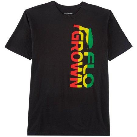 FloGrown Mens Rasta T-Shirt