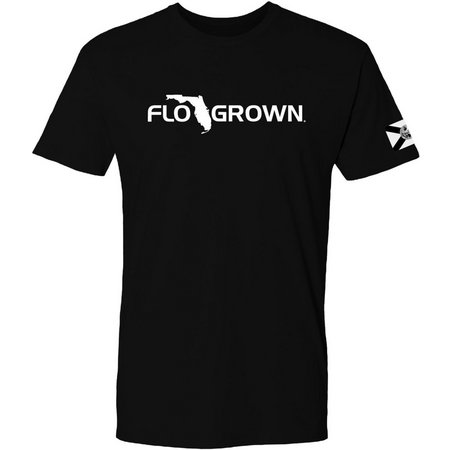 FloGrown Mens Dark Flag Sleeve T-Shirt