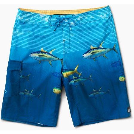 Reef Mens Water Fish Boardshorts