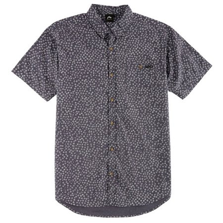 Rusty Mens Impressions Printed Woven Shirt