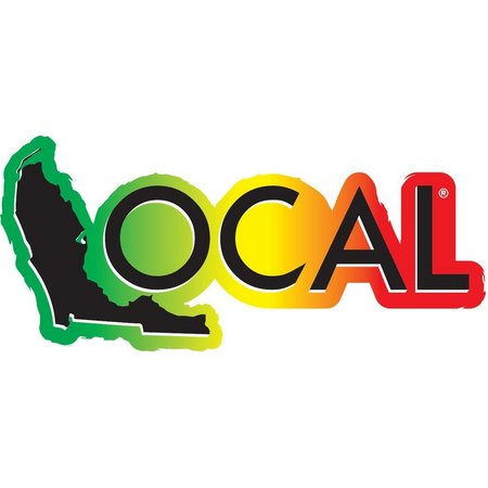 Local Rasta Vinyl Decal