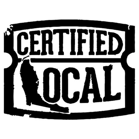 Local Certified Local Vinyl Decal