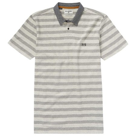 New! Billabong Mens Striped Bonito Polo Shirt