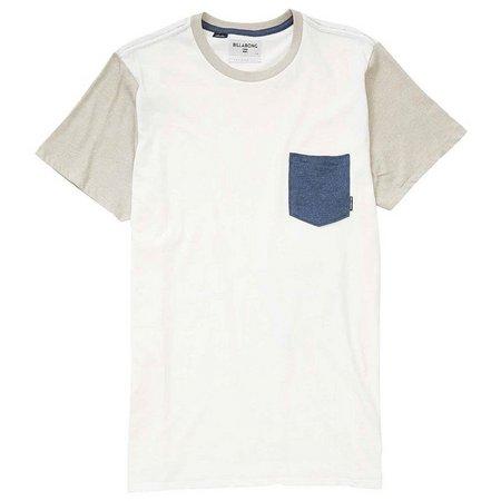 New! Billabong Mens Rock Zenith Pocket T-Shirt
