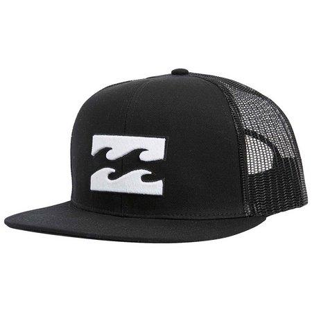 Billabong Mens All Day Black Mesh Trucker Hat