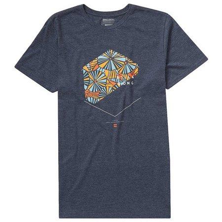 Billabong Mens Indigo Enter T-Shirt