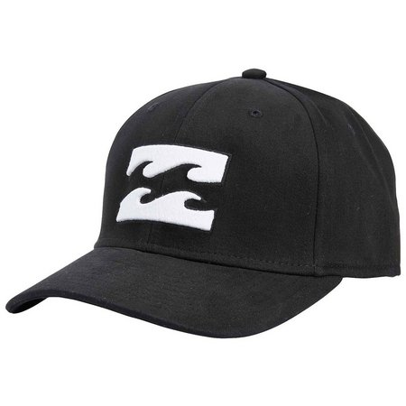 Billabong Mens All Day Solid Black Trucker Hat
