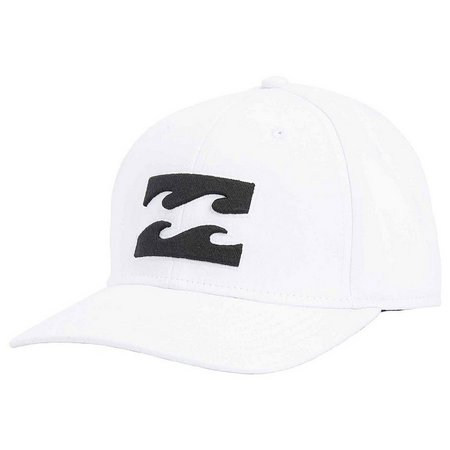 Billabong Mens All Day Solid White Trucker Hat