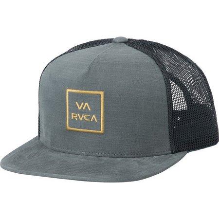 RVCA Mens VA All The Way Grey Trucker