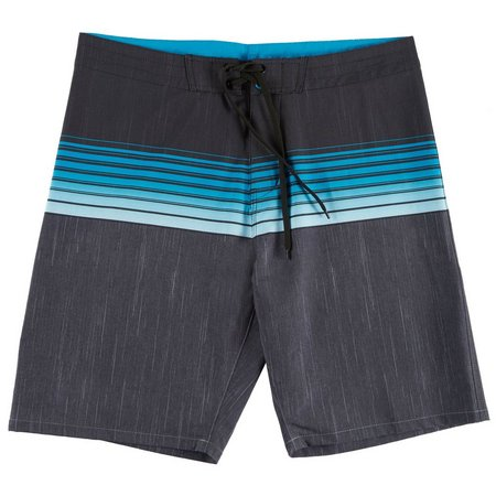 Burnside Mens Endless Stripe Boardshorts