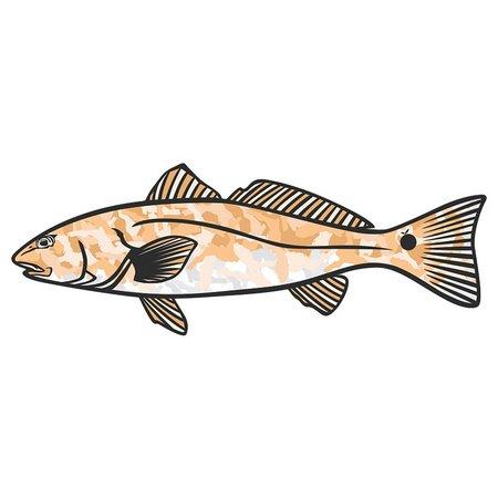 Flomotion Florida Redfish Sticker