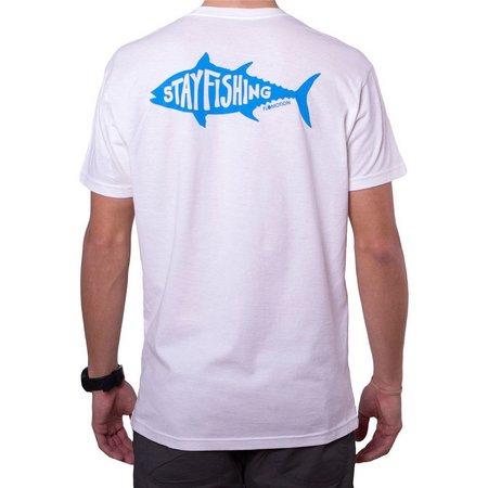 Flomotion Mens Stay Fishing T-Shirt