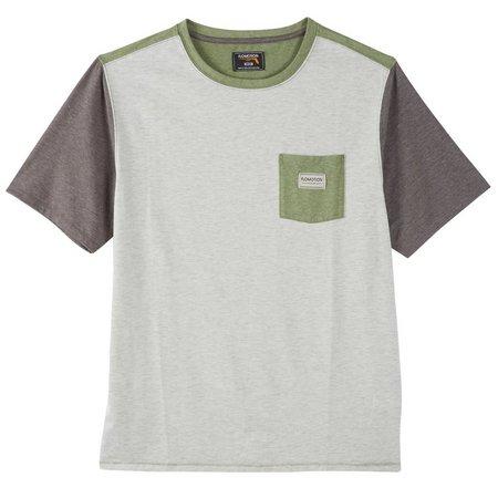 New! Flomotion Mens Colorblock T-Shirt