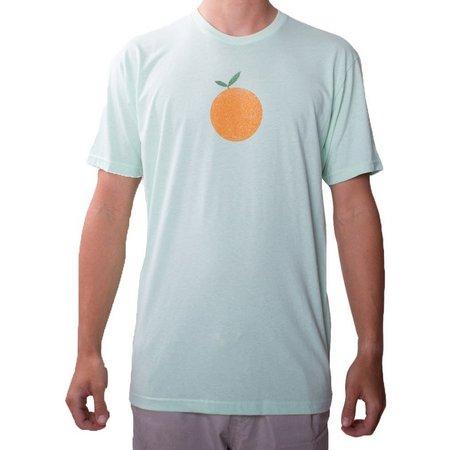 Flomotion Mens Orange Logo T-Shirt