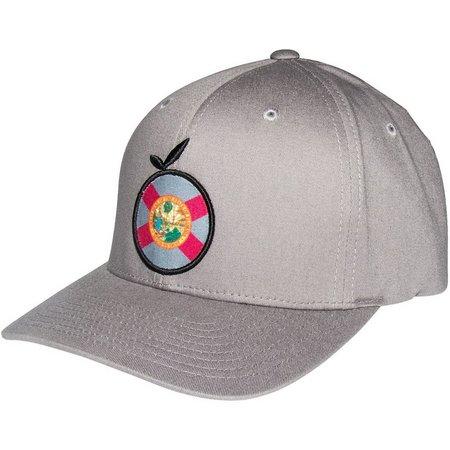 Flomotion Mens Flag Grey Hat