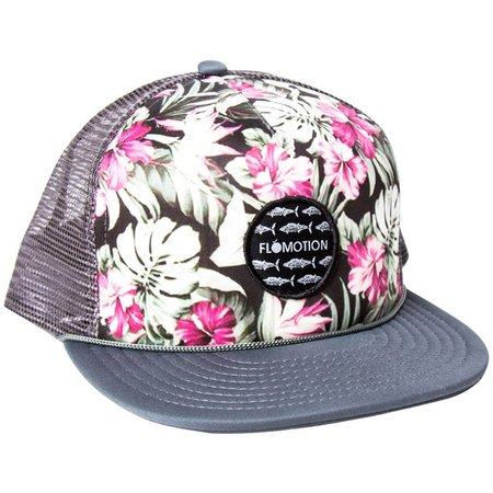 Flomotion Mens Floral Trucker Hat  6af5965c58e