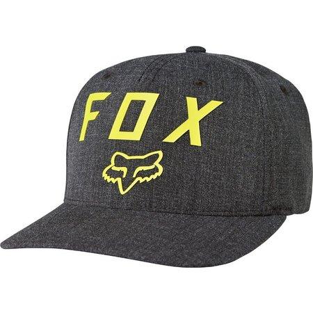 Fox Mens Number 2 Black Flexfit Hat