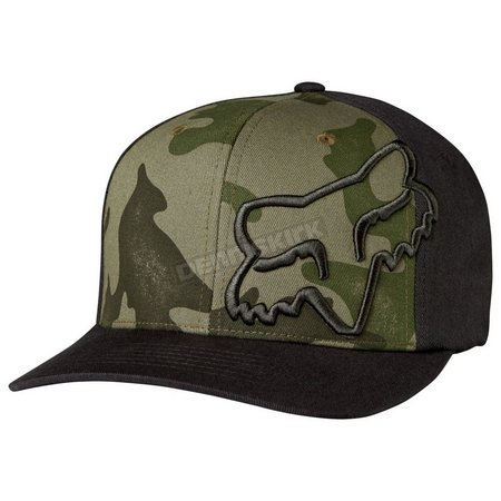 New! Fox Racing Mens Camo Forty Fiver Hat