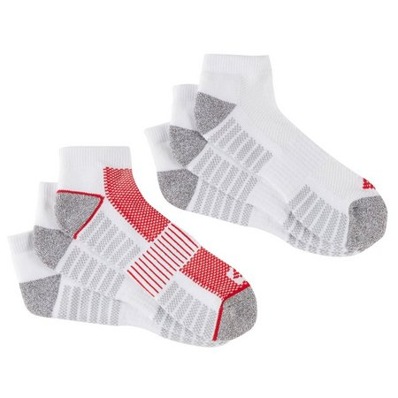Columbia Mens 6-pk. White Athletic Low Cut Socks