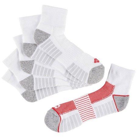 Columbia Mens 6-pk. Athletic Quarter Socks