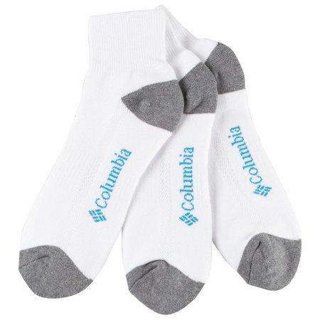 Columbia Mens 3-pk. Athletic Ankle Socks