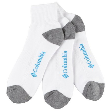 Columbia Mens 3-pk. Athletic Ankle Socks