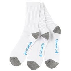 Columbia Mens 3-pk. Athletic Toe Block Crew Socks