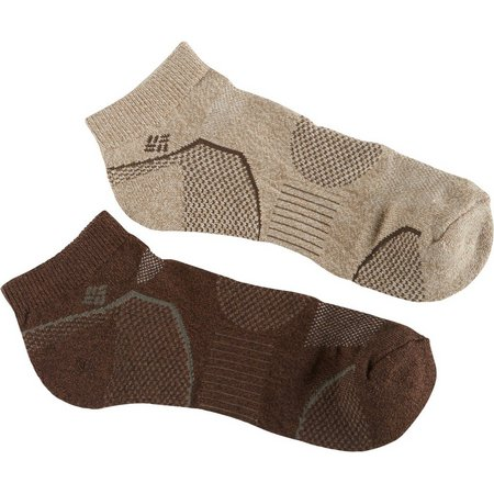 Columbia Mens Walking Low Cut Socks