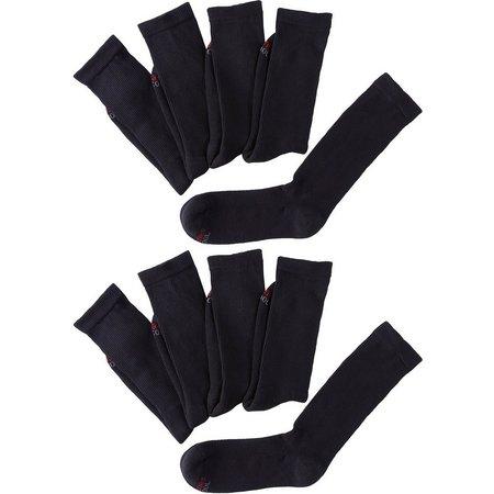 Hanes Mens 10-pk. Crew Socks