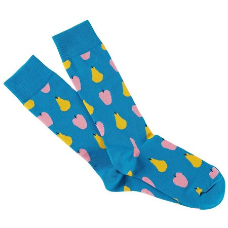 Happy Socks Mens Fruit Crew Socks