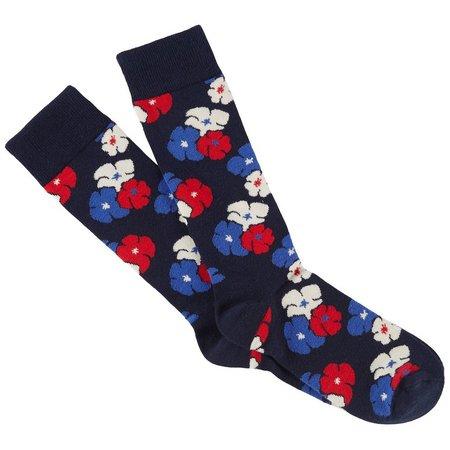 Happy Socks Mens Kimono Crew Socks