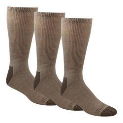 Dockers Mens 3-pk. Non-Binding Cushion Crew Socks