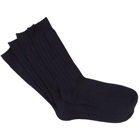 New! Dockers Mens 4-pk. Wide Rib Crew Socks