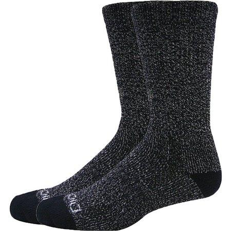 Dickies Mens 2-pk. Moisture Control Black Socks