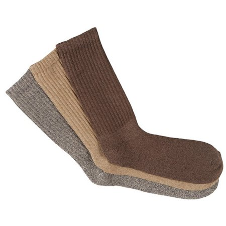 Dockers Mens 3-pk. Khaki Performance Crew Socks