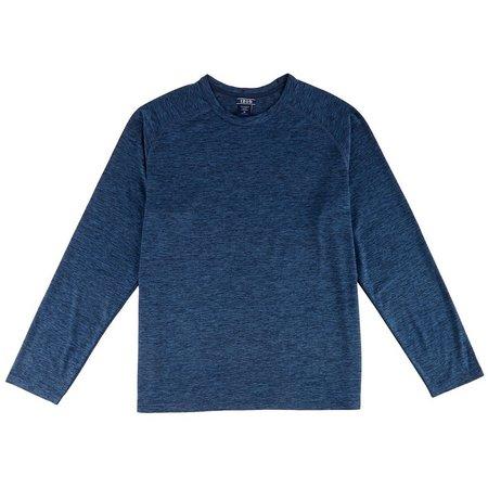 IZOD Mens Long Sleeve Pajama Top