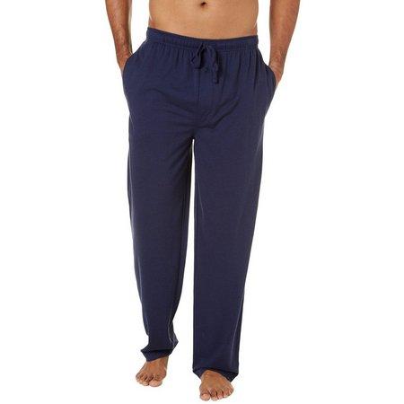 IZOD Mens Solid Mesh Pajama Pants