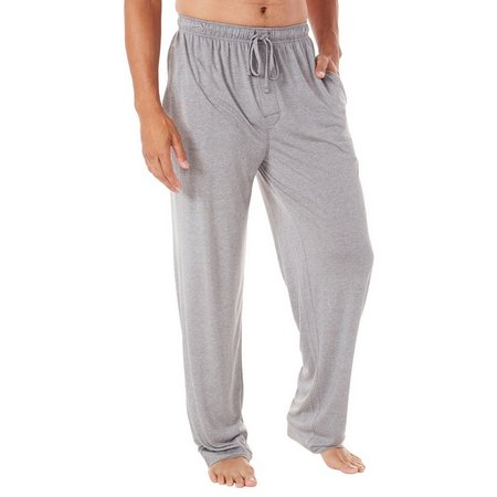 IZOD Mens Textured Knit Pajama Pants
