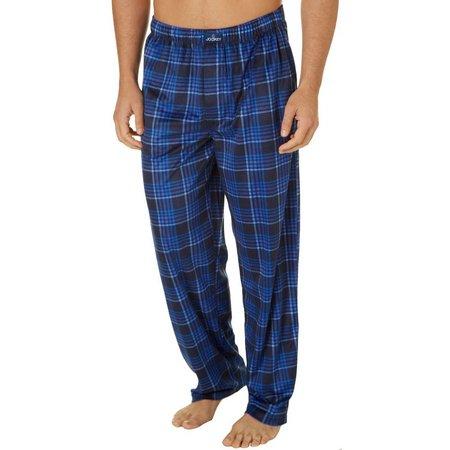 Jockey Mens Plaid Silky Fleece Pajama Pants