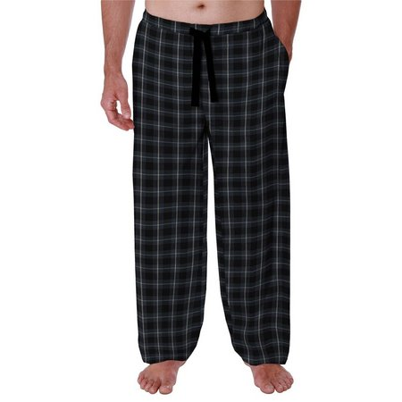 Jockey Mens Dark Plaid Drawstring Pajama Pants