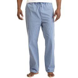 Nautica Mens Anchor Plaid Pajama Pants