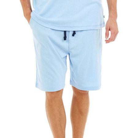 Nautica Mens Knit Lounge Pajama Shorts