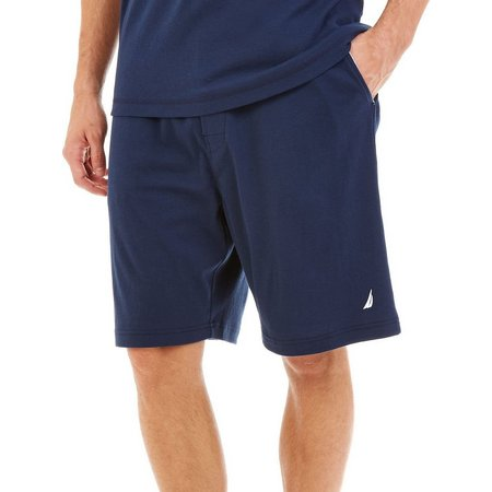 Nautica Mens Knit Lounge Pajama Shorts