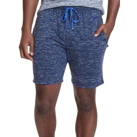Nautica Mens Space Dye Pajama Shorts
