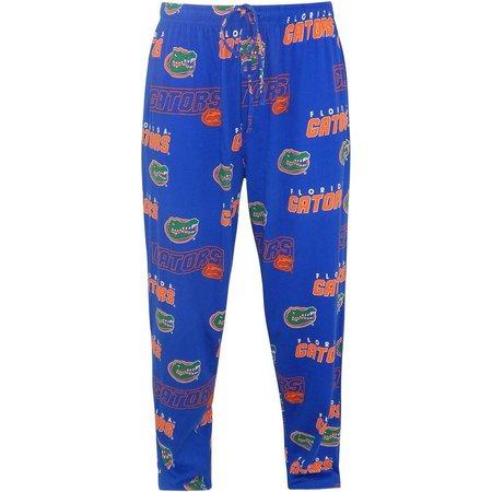 Florida Gators Mens Knit Logo Pajama Pants