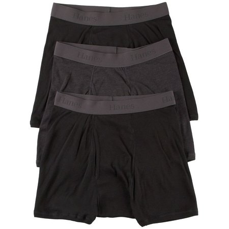 Hanes 3-pk. Mens X-Temp Trunks