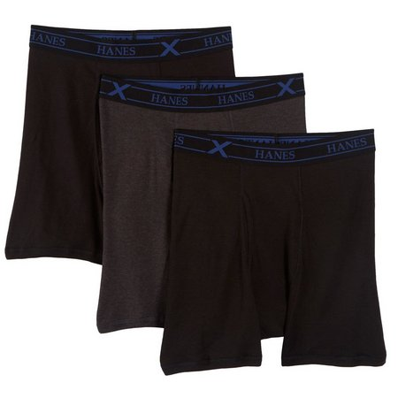 Hanes Mens 3-pk. Ultimate X-Temp Boxer Briefs