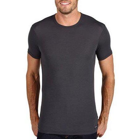 Calvin Klein Micro Modal Lycra Crewneck T-Shirt