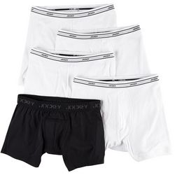 Jockey Mens 4-pk. Low Rise Boxer Brief Bonus