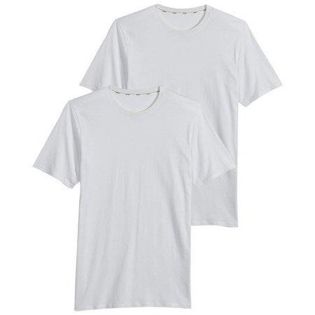 Jockey Mens Big Man 2-pk. Staycool Crew T-Shirts